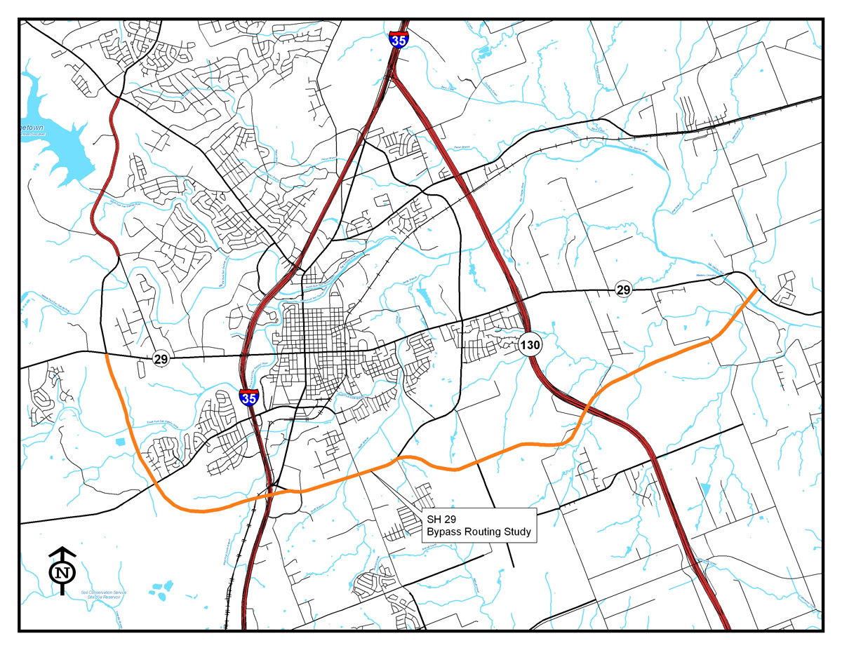SH 29 Routing Study
